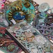 Mixed Media Steampunk Jewelry