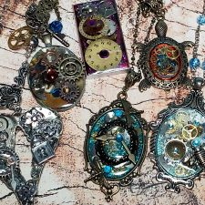 Steampunk Necklaces and Pendants