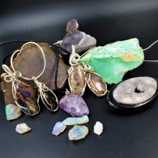Natural Stone & Wire Wraps