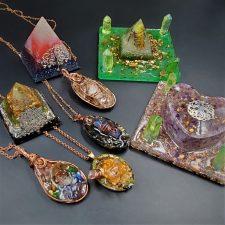 Orgonite Jewelry & Pyramids