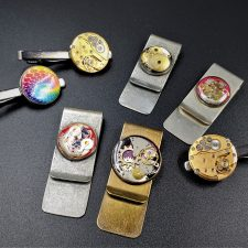 Money Clips, Tie Clips, Pins